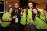 Eu, Rodrigo, Juliana, Rômulo e Gisele