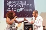 Paula Lima e Diogo Nogueira