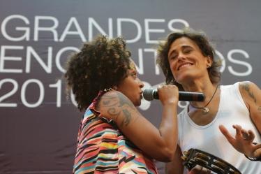 Zélia Duncan e Anelis Assumpção crédito Paulo Guimarães
