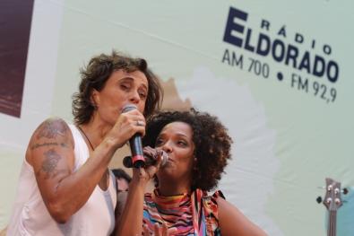 Zélia Duncan e Anelis Assumpção