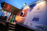 Caminhão palco em comemoração dos 5 anos do programa Globo Estrada