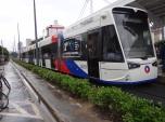 VLT da Santos-São Vicente, o primeiro do Brasil, empreendimento da EMTU/SP