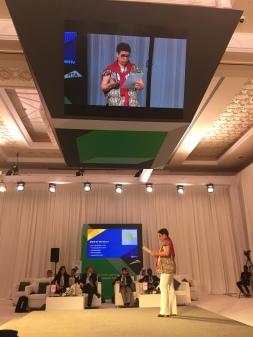 Participação no 1º Fórum de Inovação em Mobilidade Urbana, em Dubai, Emirados Árabes