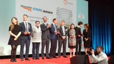 Durante a entrega do UITP Awards 2017