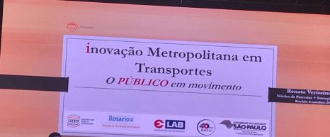 Participação na 15ª Assembleia UITP América Latina, em Rosário, na Argentina